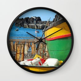 Watching the ships come in... Wall Clock