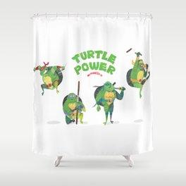 Ninja Turtles Turtle Power Shower Curtain