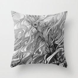 Smoulder Throw Pillow