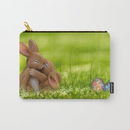 Easter Bonny | Lapin de Pâques Carry-All Pouch