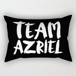 Team Azriel - A Court of Thorns and Roses Rectangular Pillow