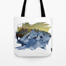 Shining Alps Tote Bag