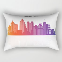 Atlanta City Of Georgia USA Rectangular Pillow