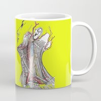 anatomy Mugs featuring Dual anatomy by Antoine