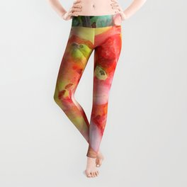 Helen's Lilies Watercolor Leggings