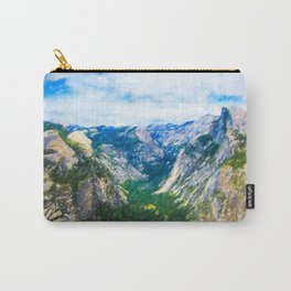Yosemite National Park Viewpoint Carry-All Pouch