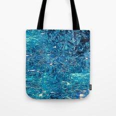 Broken and blue Tote Bag