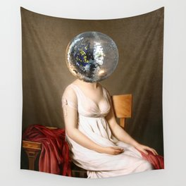 Discohead Wall Tapestry