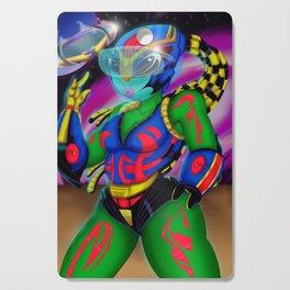 Alien Wear Cutting Board