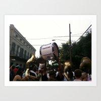 drum Art Prints featuring Drum by Daniel Paschall