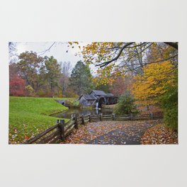 Mabry Mill In Autumn Rug
