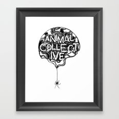 Animal Collective Framed Art Print