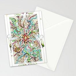 Polychromic Evolution Stationery Cards