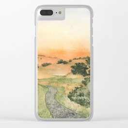 Sonoma: Crane Creek Clear iPhone Case