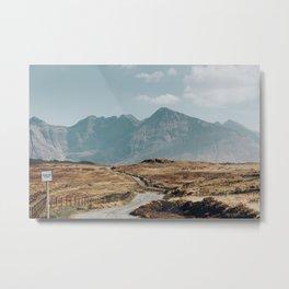 Longest Road, Fairy Pools, Isle of Skye. Metal Print