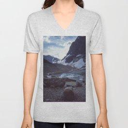 Cavell Glacier Encore Unisex V-Neck