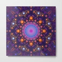 """""""Guardian"""" Mandala painting Metal Print"""