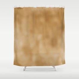 Dark Mottled Champagne Foil Shower Curtain