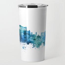 Athens Greece Skyline Travel Mug