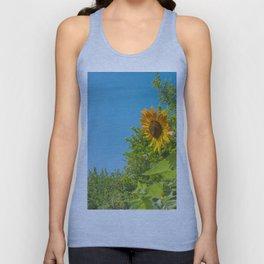 Cloud gazing Sunflower Unisex Tank Top