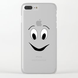 Funny face Clear iPhone Case