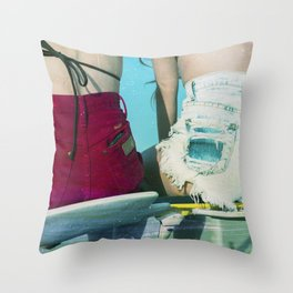Bums Throw Pillow