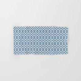 Geometric seamless blue islamic pattern Hand & Bath Towel