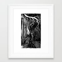 prometheus Framed Art Prints featuring Prometheus by Mr.Willow