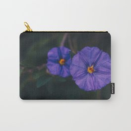 Morning Glory Couple - Floral Photography Carry-All Pouch