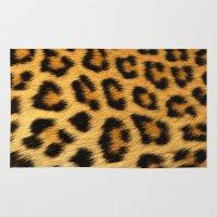 cheetah Area & Throw Rugs featuring Cheetah  by Jason Michael