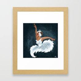 Swan Queen Framed Art Print
