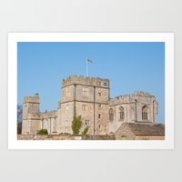 snape Art Prints featuring Snape Castle by Imager