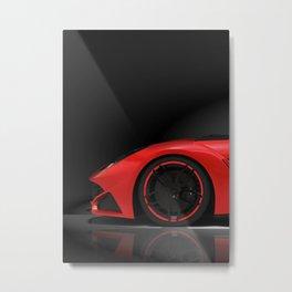 F12 Berlinetta 1/3 poster Metal Print
