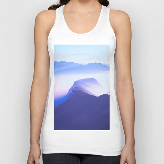 French mountains Unisex Tank Top
