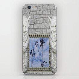 Two Gargoyles  iPhone Skin