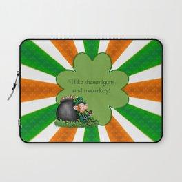 Wealthy Leprechaun Laptop Sleeve