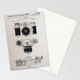 Camera patent 1962 Stationery Cards