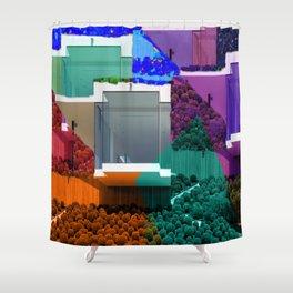 Real Estate Fantasy Shower Curtain