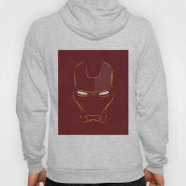 iron man face Hoody