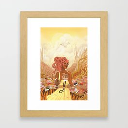 The Memories We Create Framed Art Print