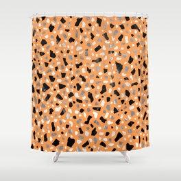 Terrazzo Autumn Shower Curtain