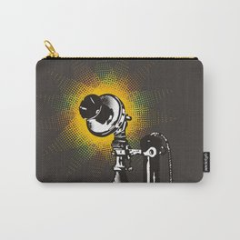 Vintage retro phone telephone pop art halftone burst Carry-All Pouch