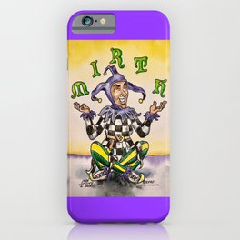 Mirth Juggling Jester #1 iPhone Case