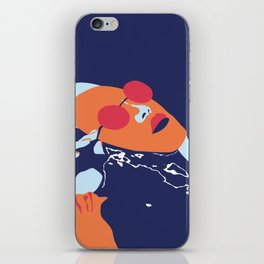 sinking in the water iPhone Skin