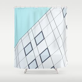 Minimalist Facade - S01 Shower Curtain