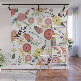 Floral Pattern1 Wall Mural