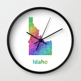 Idaho Wall Clock