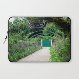 Monet's Garden Gate  Laptop Sleeve