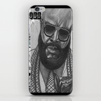 boss iPhone & iPod Skins featuring BOSS by TATTZ4CARZ