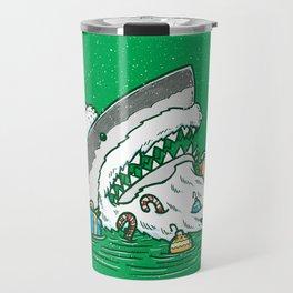 The Santa Shark Travel Mug